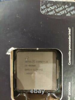 Intel Core i5-9600K 3,70 GHz FCLGA1151 Hexa Core Processeur (BX80684I59600K)