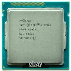 Intel Core i7-3770K 3,50GHz FCLGA1155 Quad-Core Processeur (BX80637I73770K)