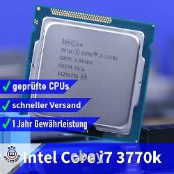 Intel Core i7-3770K (4x 3.50GHz) Ivy Bridge CPU Socle 1155