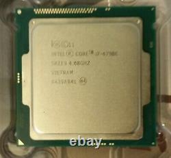 Intel Core i7-4790K 4GHz Quad-Core Processeur