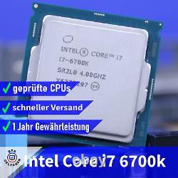 Intel Core i7-6700K 4.0GHz Quad Core Processeur