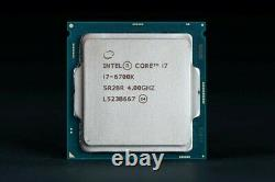 Intel Core i7-6700K Skylake 4.0 GHz 8Mo Quadricur Processeur (BX80662I76700K)