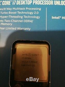 Intel Core i7-6700K Skylake 4.0 GHz 8Mo Quadricur Processeur (DELID)