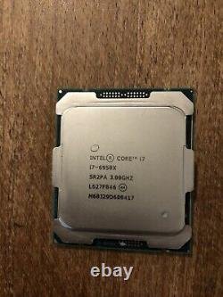 Intel Core i7-6950X 3.00GHz SR2PA 10-Core LGA 2011-3