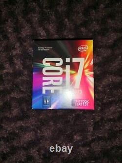 Intel Core i7-7700K 4,20GHz Quad Core Processeur Socket CPU LGA 1151