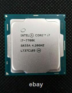 Intel Core i7-7700k (4x 4.20ghz) sr33a KABY Lake CPU socle 1151