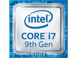 Intel Core i7 9700K 3,6 GHz, 12 Mo café lac Boxed Desktop Processor