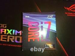 Intel Core i7-9700K (3.6 GHz / 4.9 GHz) LGA 1151 Processeur