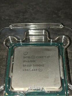 Intel Core i7-9700K 3,6 GHz Octa Core LGA 1151 Processeur