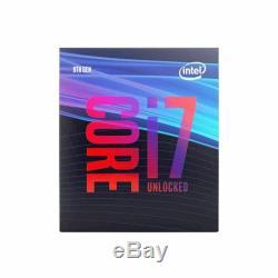 Intel Core i7-9700K 3,6 GHz Octa Core LGA 1151 Processeur (BX80684I79700K)