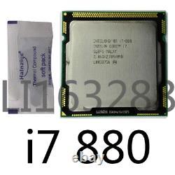 Intel Core i7 Quad Core i7-880 3.06GHz / 8MB LGA1156 Processor CPU