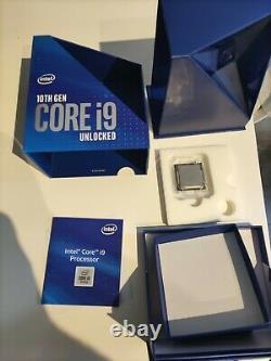 Intel Core i9-10900K Processeur (5,3 GHz, 10 Curs, Socket LGA1200, Box) BX80