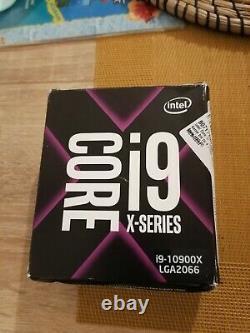 Intel Core i9 10900X X-series 3.7 GHz 10 coeurs