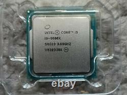 Intel Core i9-9900K 3,6GHz Socket FCLGA1151 Octa-Coeur Processeur (BX806849900K)