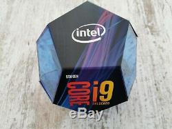 Intel Core i9-9900K CPU / 3,6 GHZ / Socle 1151/BX80684I99900K / Boîte / Neuf