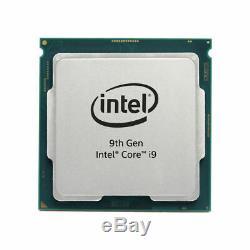 Intel Core i9-9900K CPU Boite Processeur 8x 3,6GHz Socle 1151
