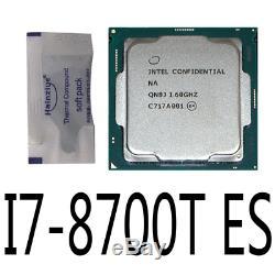 Intel I7-8700T ES QN8J 1.6GHz 6Core 35W 14nm Socket LGA1151 CPU Processor