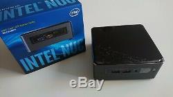 Intel NUC NUC7i3BNH Core i3 7100U 2,4Ghz SSD 128go 8go DDR4 Windows 10 Pro