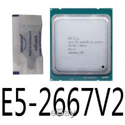 Intel Xeon E5-2667 V2 E5-2667V2 3.3GHz LGA2011 8-Core Processor
