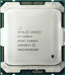 Intel Xeon E5-2680 V4 (SR2N7) 2.40Ghz Quatorze (14) Core LGA2011-3 35MB 120W CPU