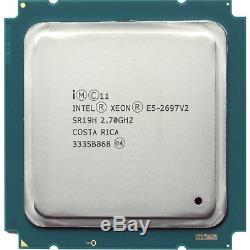 Intel Xeon E5-2697 v2 2.70 GHz 12-Core SR19H OEM Garantie