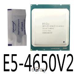 Intel Xeon E5-4650 V2 E5-4650V2 10 Core 2.4GHz LGA2011 Processor