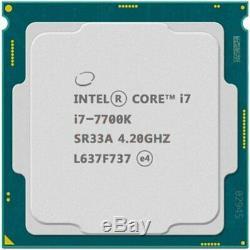 Intel i7-7700K 4.2 GHz 8MB Quad-Core LGA 1151 91W CPU Processor