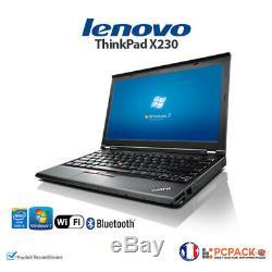 Lenovo ThikPad X230 12.5 Intel Core i5 @ 2.6Ghz 4Go 320G WIN 7 GAMME PRO