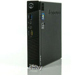 Lenovo ThinkCentre M93p Tiny Intel Core i5 3.6 GHz SSD 240Go RAM 8Go W10