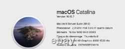 MAC MINI 2,3 ghz intel core I7 16 GO