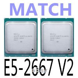 MATCH Intel Xeon E5-2667 V2 E5-2667V2 3.3GHz LGA2011 8-Core Processor