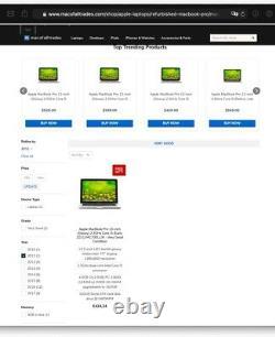 MacBook Pro 13-(MD314LL/A)-Late 2011-2.8GHz dual-core Intel i7-RAM 4GB-HDD 500GB