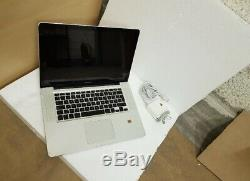 MacBook Pro 15,4, Fin 2011, (Intel Core i7- 2,2 GHz, 128 Go SSD, 4 Go RAM)