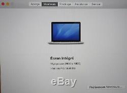 MacBook Pro 15 Intel Core i7 CPU 2.2GHz RAM 16GB SSD 256GB Mi 2015