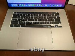 MacBook Pro 16'' 2.4 GHz 8-Core Intel i9 64 GB RAM 1TB SSD
