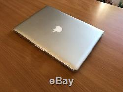 MacBook Pro Mi-2012 Intel Core I5 à 2,5 Ghz 4 Go RAM DDR3 1600 Mhz HDD 500 Go