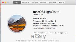 Mac Mini 2011 2,5 GHz Intel Core i5 4Go Ram Disque dur 1To