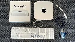 Mac mini (fin 2012) Intel Core i7 quadricur 2,3 GHz RAM 16 Go SSD 1 To