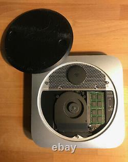 Mac mini fin 2012 intel core i7 4 coeurs 2.6Ghz RAM16 Go 2To Fusion drive