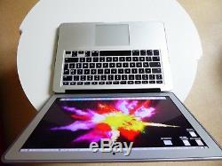 Macbook Air 13 AZERTY Argent (Intel Core, 1.6 GHz, 4 Go RAM, 128 Go SSD, 2015)