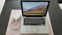 Macbook Pro 13 A1278 Intel Core i5 2.3 GHz 8GB 500 go (debut 2011) HIGH SIERRA