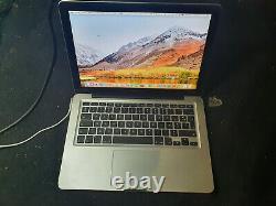 Macbook Pro 13 A1278 Intel Core i5 2.4GHz / 3.1GHz Mémoire 6Go