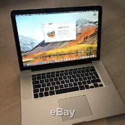 Macbook Pro 15 pouces fin 2008 A1286 2,4GHz Intel Core 2 Duo 8 Go RAM SSD 120 Go