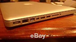 Macbook pro 13 2011 10 Go Ram Intel core i5 2,3 Ghz