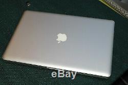 Macbook pro 15 2011 2.2Ghz Intel Core i7 8 go 1333 Mhz DDR3 Bon état