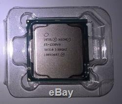 NEW Intel Xeon E3-1230 v6 3.5GHz 3.9GHz Quad Core Kaby Lake LGA 1151 SR328