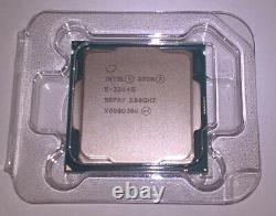 NEW Intel Xeon E-2244G 3.8GHz -4.8GHz Coffee Lake Quad Core LGA1151 v2 SRFAY