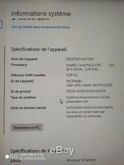 Ordinateur Gamer Acer Predator Intel Core i5 3.2GHz 8Go SSD 64Go + 1To HD6670