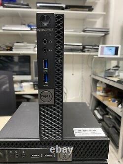 PC Dell Optiplex 7040 micro, Intel Core i5-6500T @2.50 GHz, Ram 8 Go, SSD 480 Go