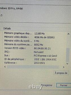 PC Portable HP Zbook 17 Intel Core i7-4600M @ 2.9GHz Ram 16Go SSD To(1000Go)